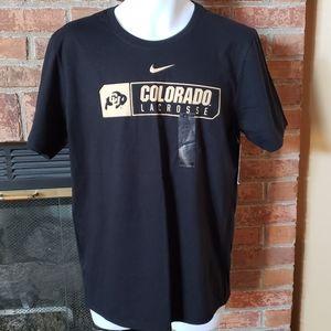 NWT Nike Colorado Lacrosse Shirt